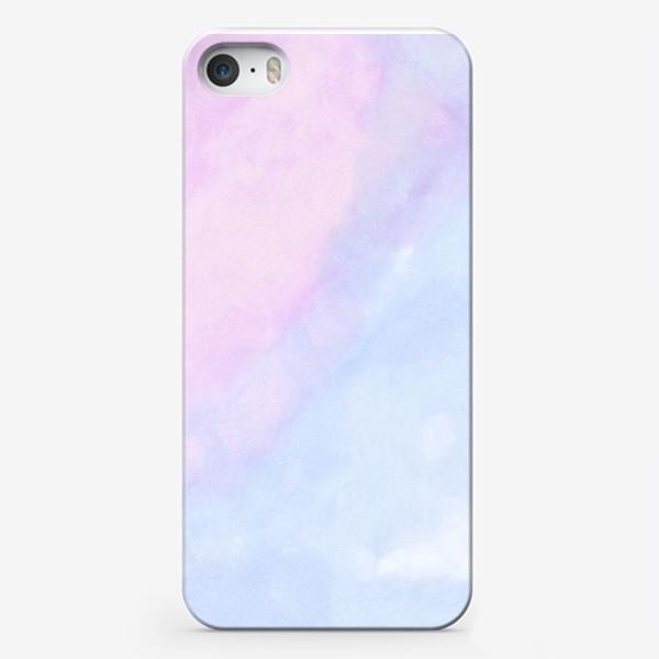 Чехол iPhone «Акварельные облака»