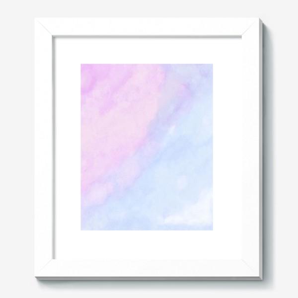 Картина «Акварельные облака»