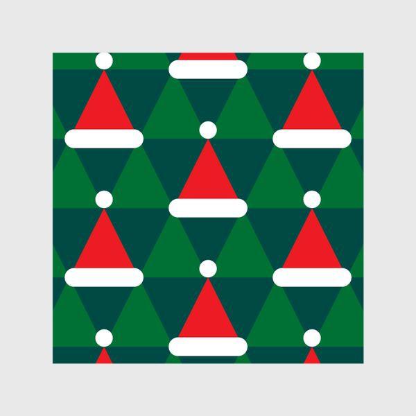 Шторы «Новогодние колпаки»