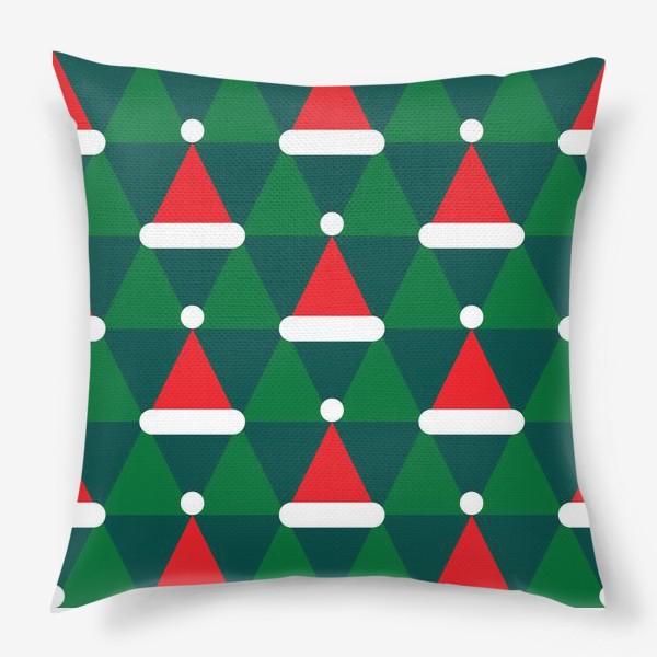 Подушка «Новогодние колпаки»