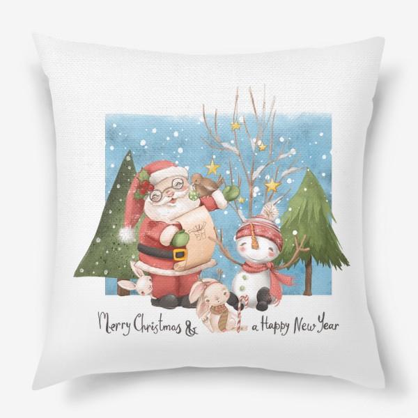 Подушка «Новый год и Рождество»