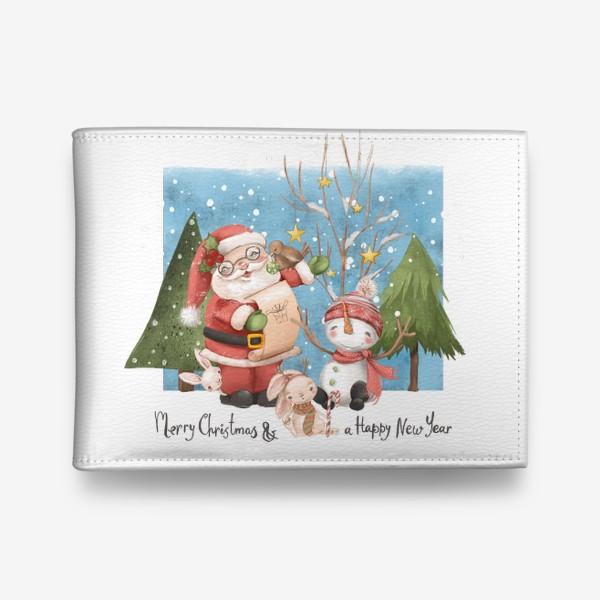 Кошелек «Новый год и Рождество»