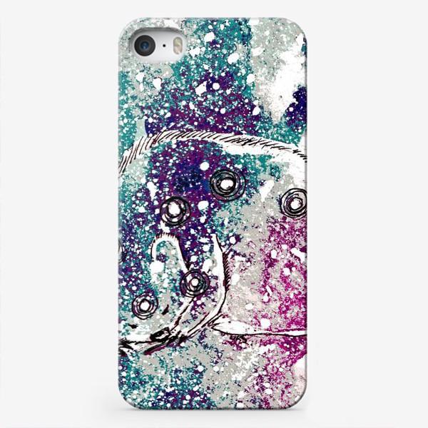 Чехол iPhone «Звездный Мишка»