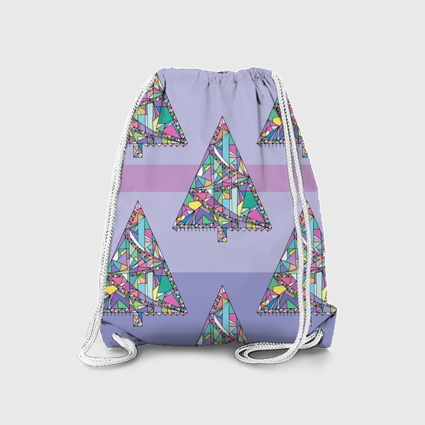Рюкзак «Новогодние елки»