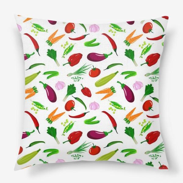 Подушка «Овощная феерея»