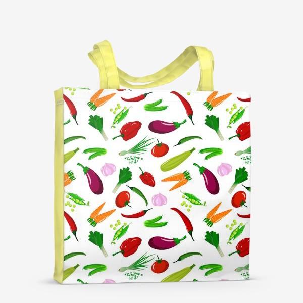 Сумка-шоппер «Овощная феерея»