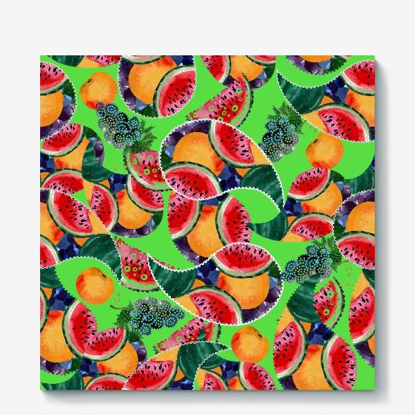Холст «фруктовый рай»