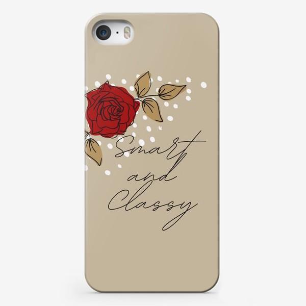 Чехол iPhone «Smart and Classy»