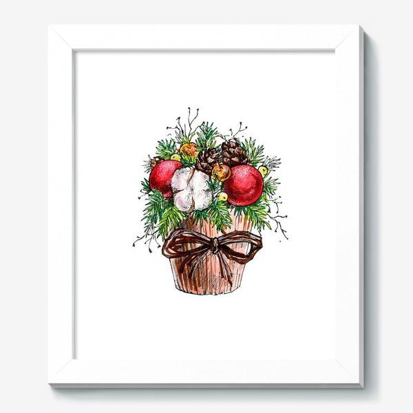 Картина «Новогодняя композиция»