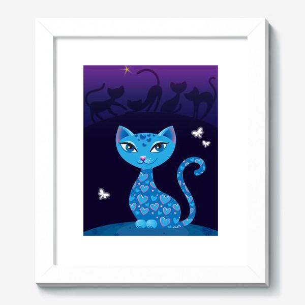 Картина «Кошка, которая гуляет сама по себе. Ночь»