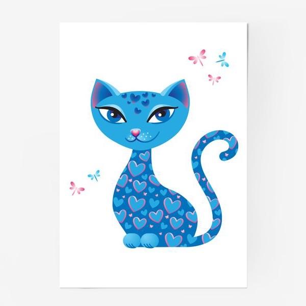 Постер «Кошка, которая гуляет сама по себе. День»