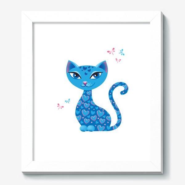 Картина «Кошка, которая гуляет сама по себе. День»