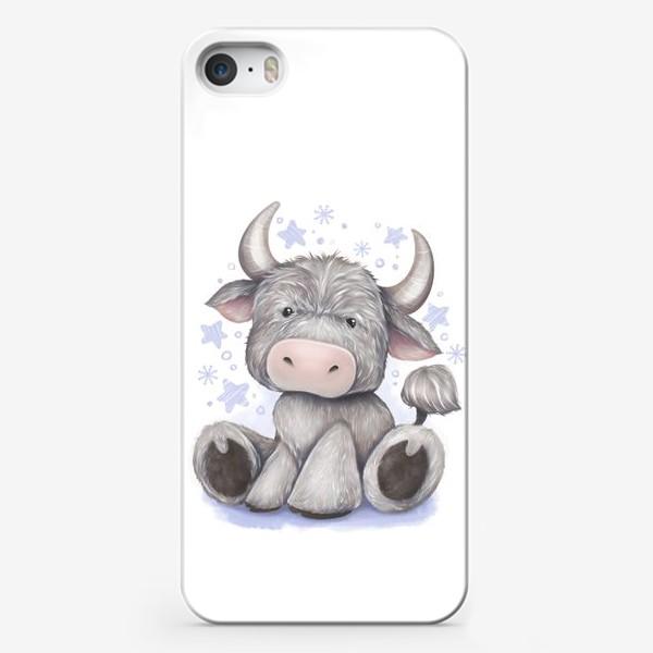 Чехол iPhone «Малыш бычок 2021 »