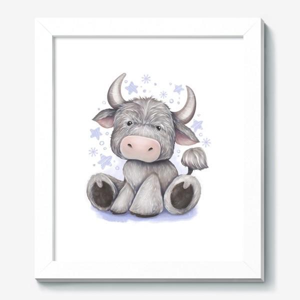 Картина «Малыш бычок 2021 »