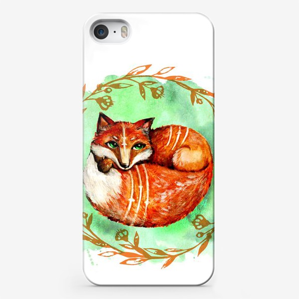 Чехол iPhone «Лиса летняя»