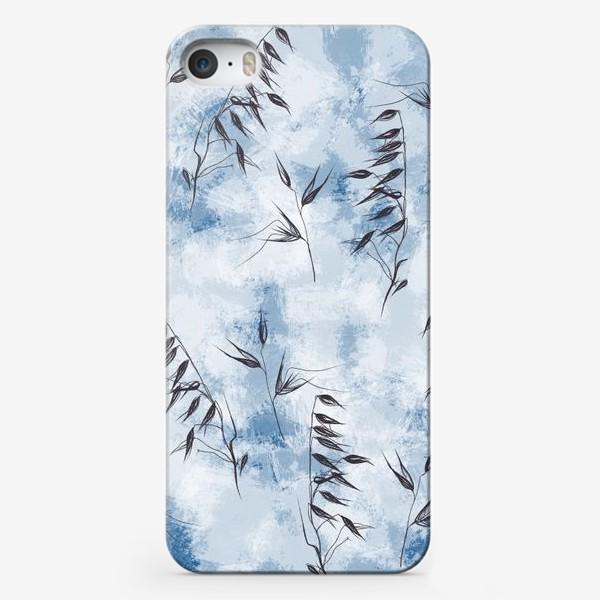 Чехол iPhone «Снежные колоски»