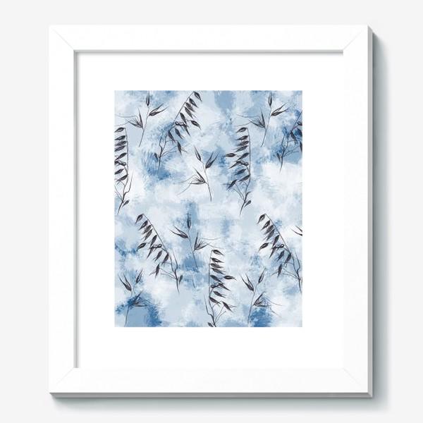Картина «Снежные колоски»