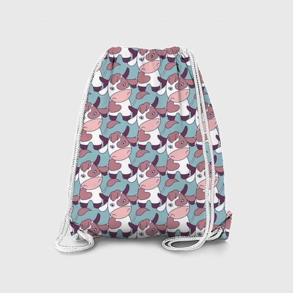 Рюкзак «Коровы паттерн»