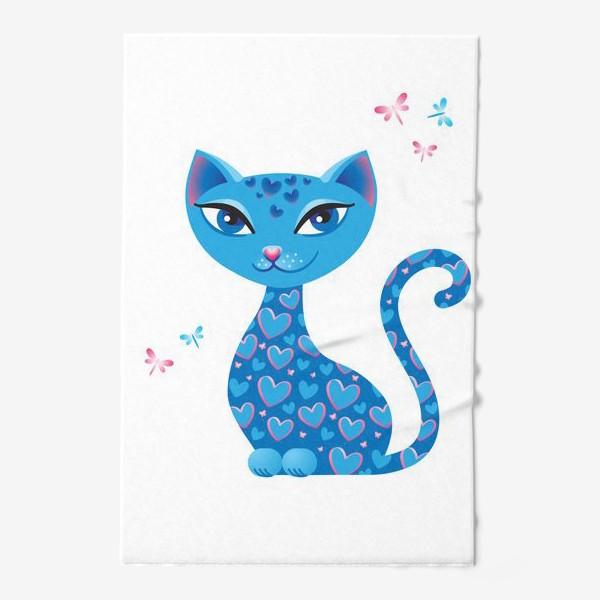 Полотенце «Кошка, которая гуляет сама по себе. День»