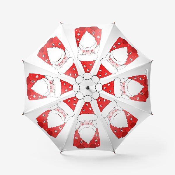 Зонт «Зимний гном»