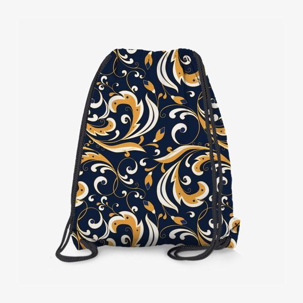 Рюкзак «Цветочный узор»