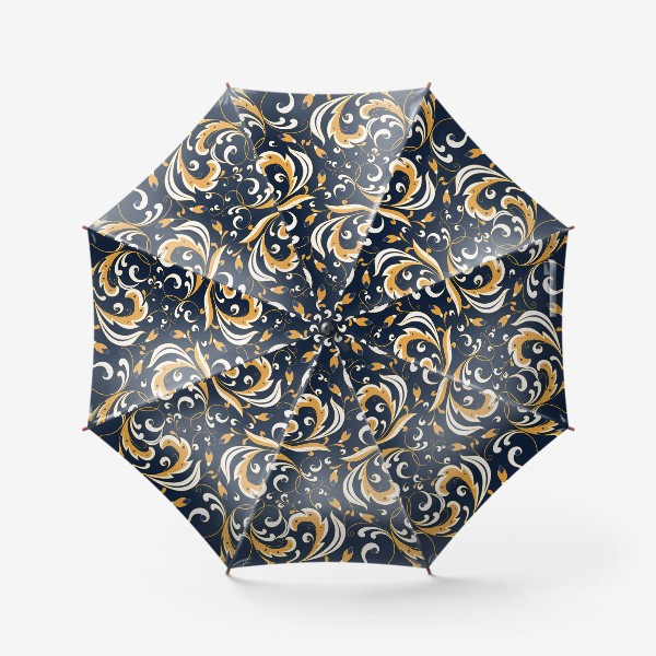 Зонт «Цветочный узор»