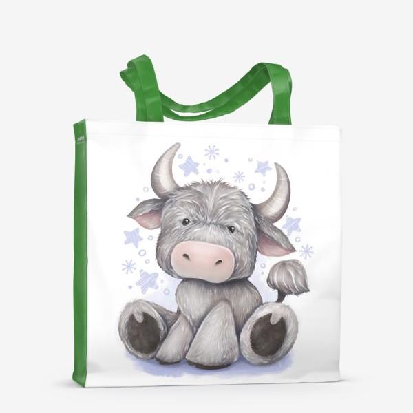 Сумка-шоппер «Малыш бычок 2021 »