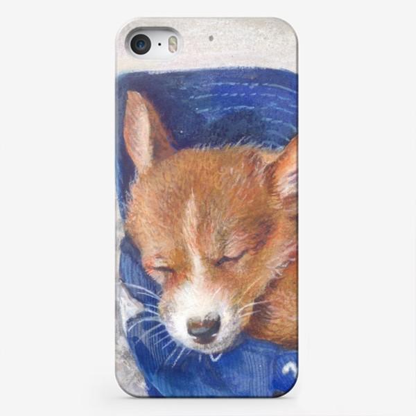 Чехол iPhone «Малыш корги . щенок ,подарок»