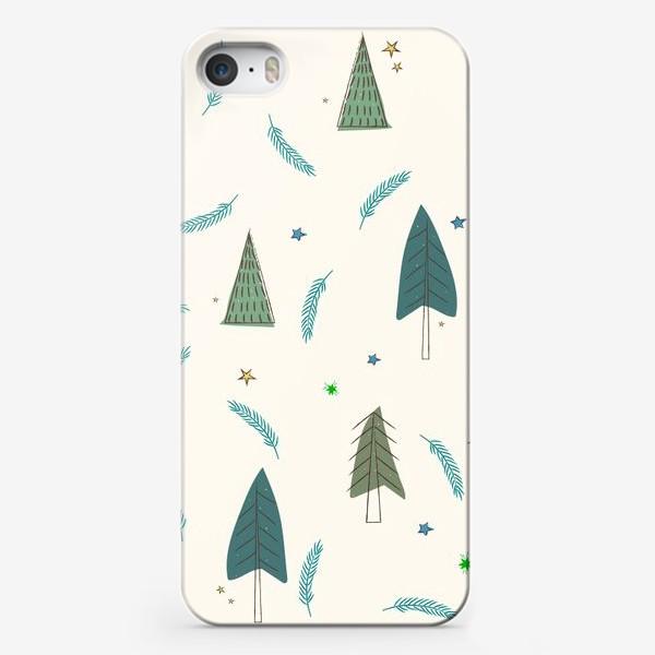 Чехол iPhone «ёлочки»