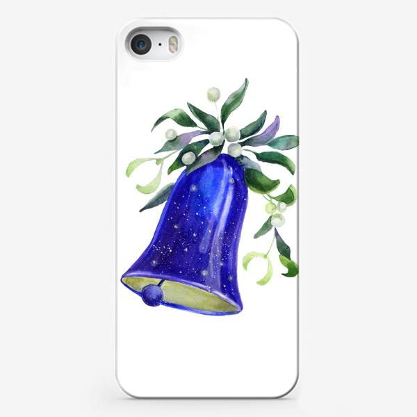Чехол iPhone «Новогодний колокольчик»