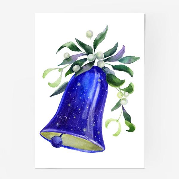 Постер «Новогодний колокольчик»