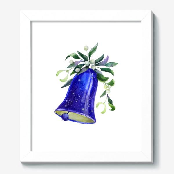 Картина «Новогодний колокольчик»