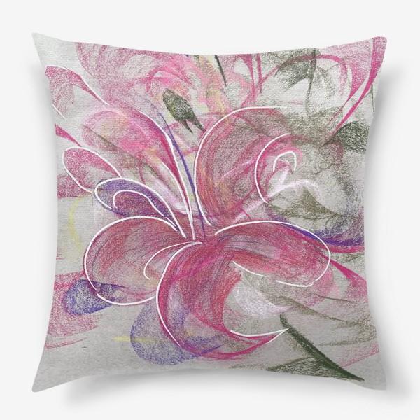 Подушка «Цветок с Бали»