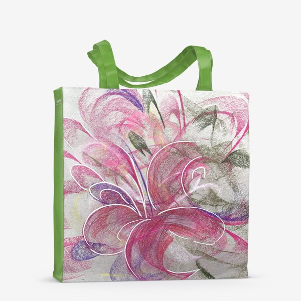 Сумка-шоппер «Цветок с Бали»