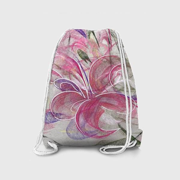 Рюкзак «Цветок с Бали»