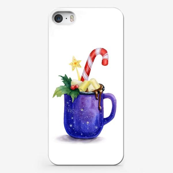 Чехол iPhone «Горячий шоколад в кружке»