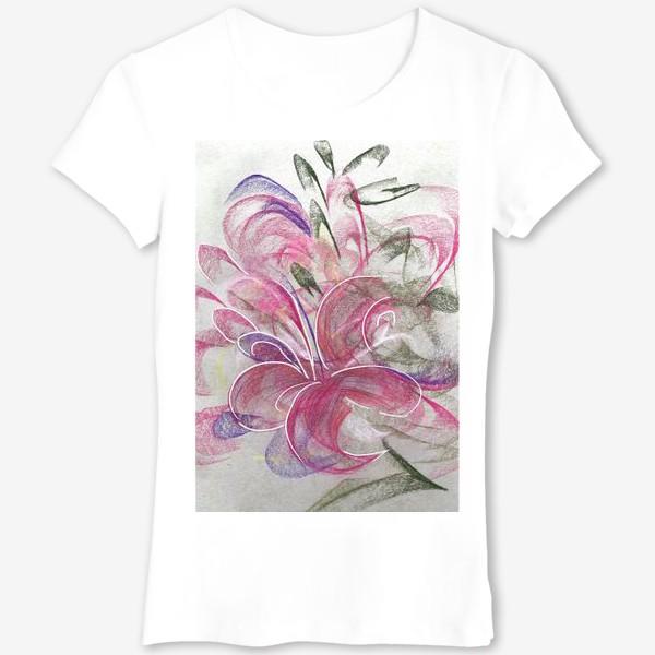 Футболка «Цветок с Бали»