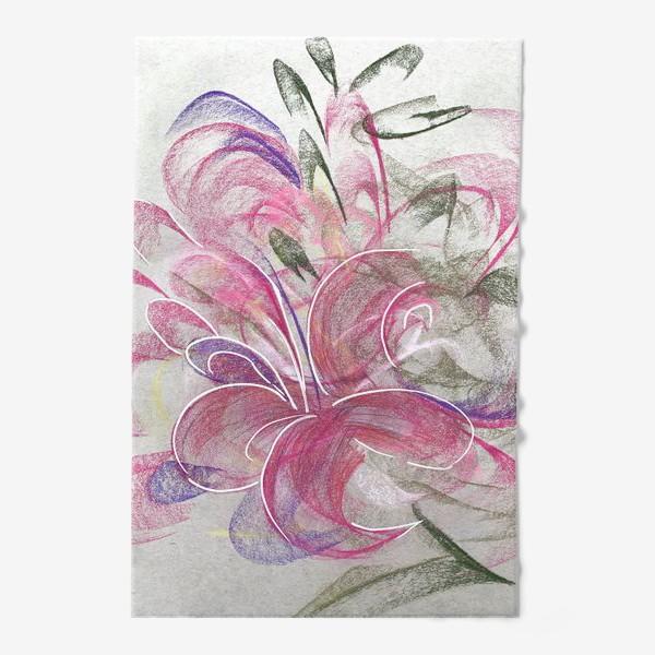 Полотенце «Цветок с Бали»