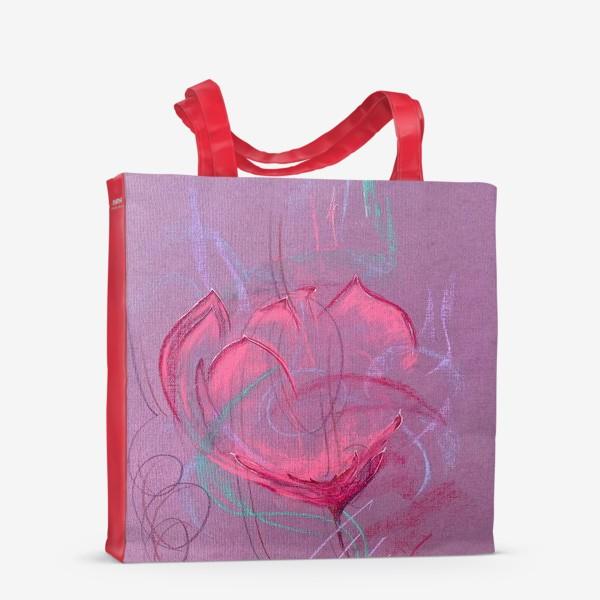 Сумка-шоппер «Девушка - цветок»