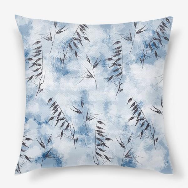 Подушка «Снежные колоски»