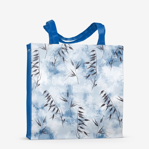 Сумка-шоппер «Снежные колоски»