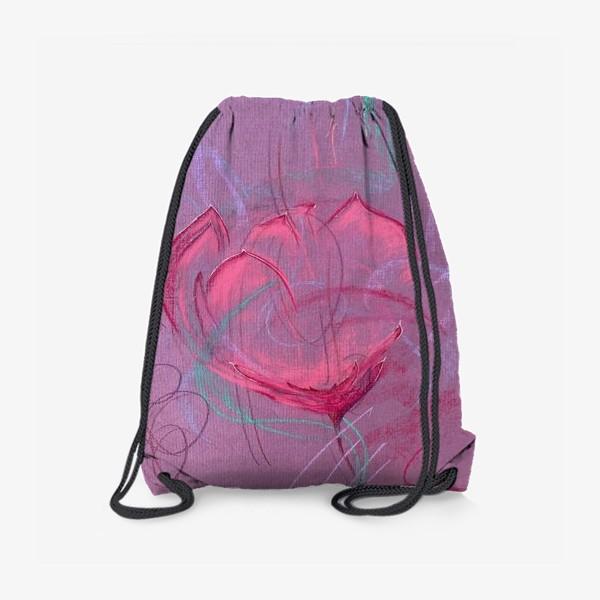 Рюкзак «Девушка - цветок»