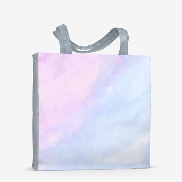 Сумка-шоппер «Акварельные облака»