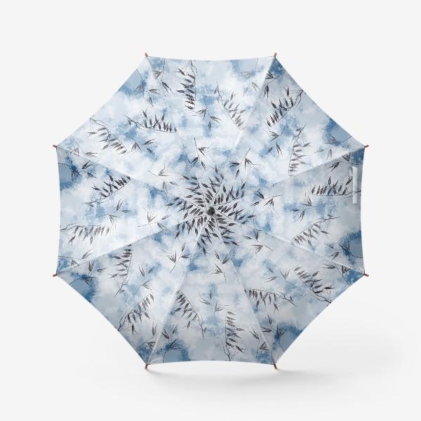 Зонт «Снежные колоски»