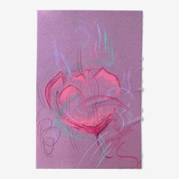 Полотенце «Девушка - цветок»
