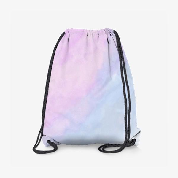 Рюкзак «Акварельные облака»