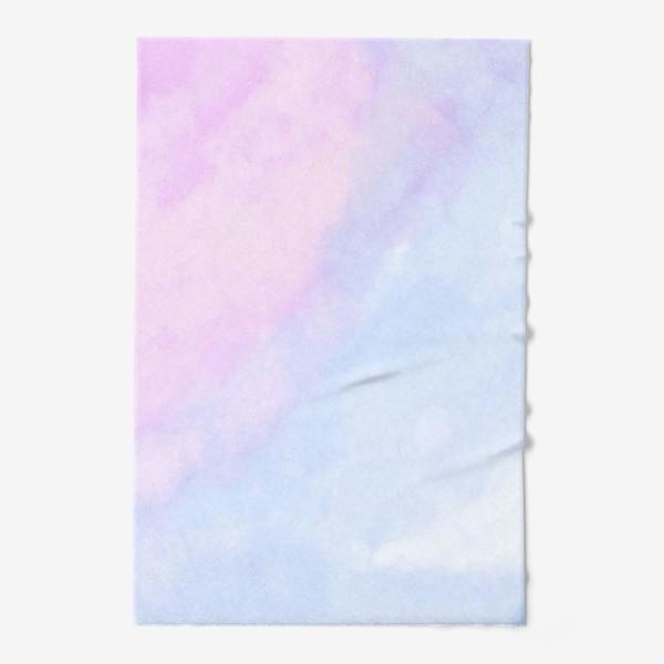 Полотенце «Акварельные облака»