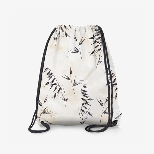 Рюкзак «Колоски графичный паттерн»