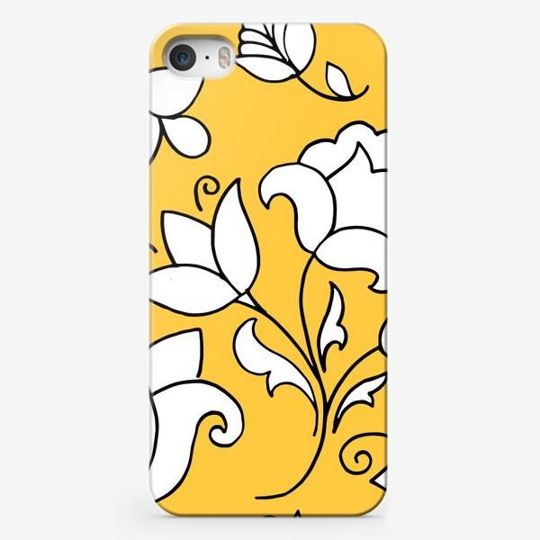 Чехол iPhone «Паттерн с татарским узором»