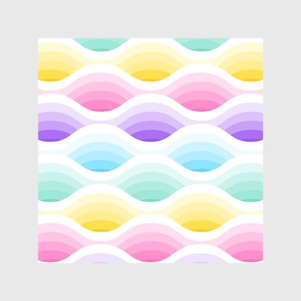 Скатерть «Радужно-единороговые волны»